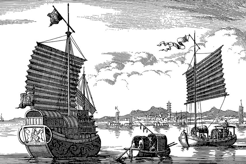 Navios chineses