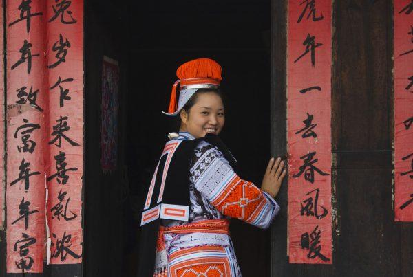 Mulher de etnia Miao em Kaili