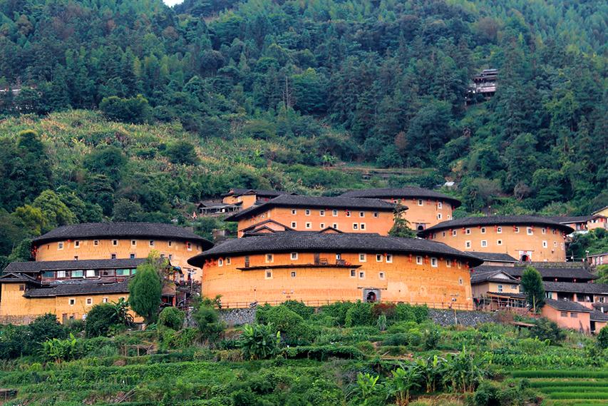 complexo de tulous, arquitetura chinesa Hakka