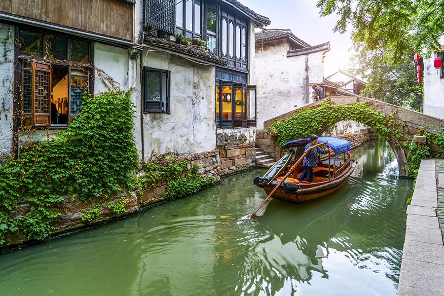 Zhouzhuang em Jiangnan
