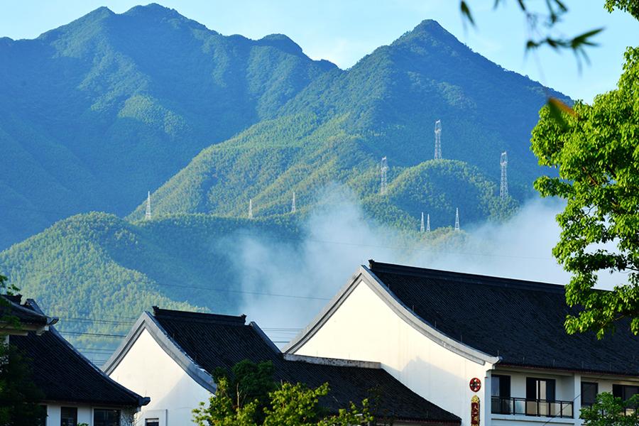 Paisagem rural na China