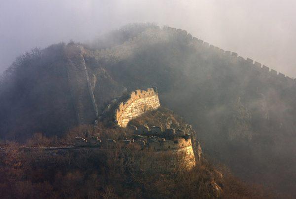 Trecho da Muralha da China, Chenjiapu, Hebei