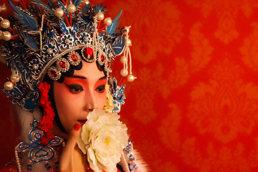 Personagem da Opera de Pequim