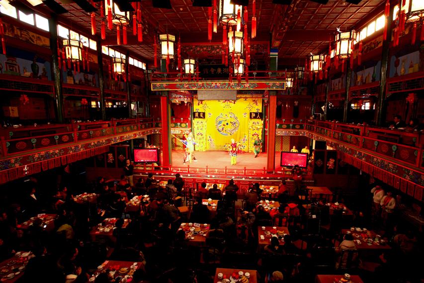 Apresentação Opera de Pequim