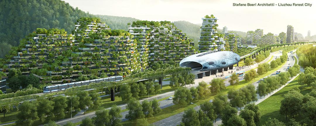 Projeto de Stefano Boeri para cidade autossustentável em Guanxi